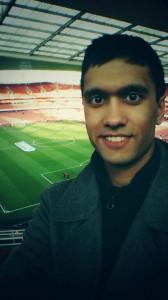 Ibrahim visits the Emirates Stadium