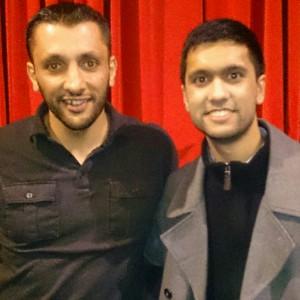 Baba Ali and Ibrahim Rahman