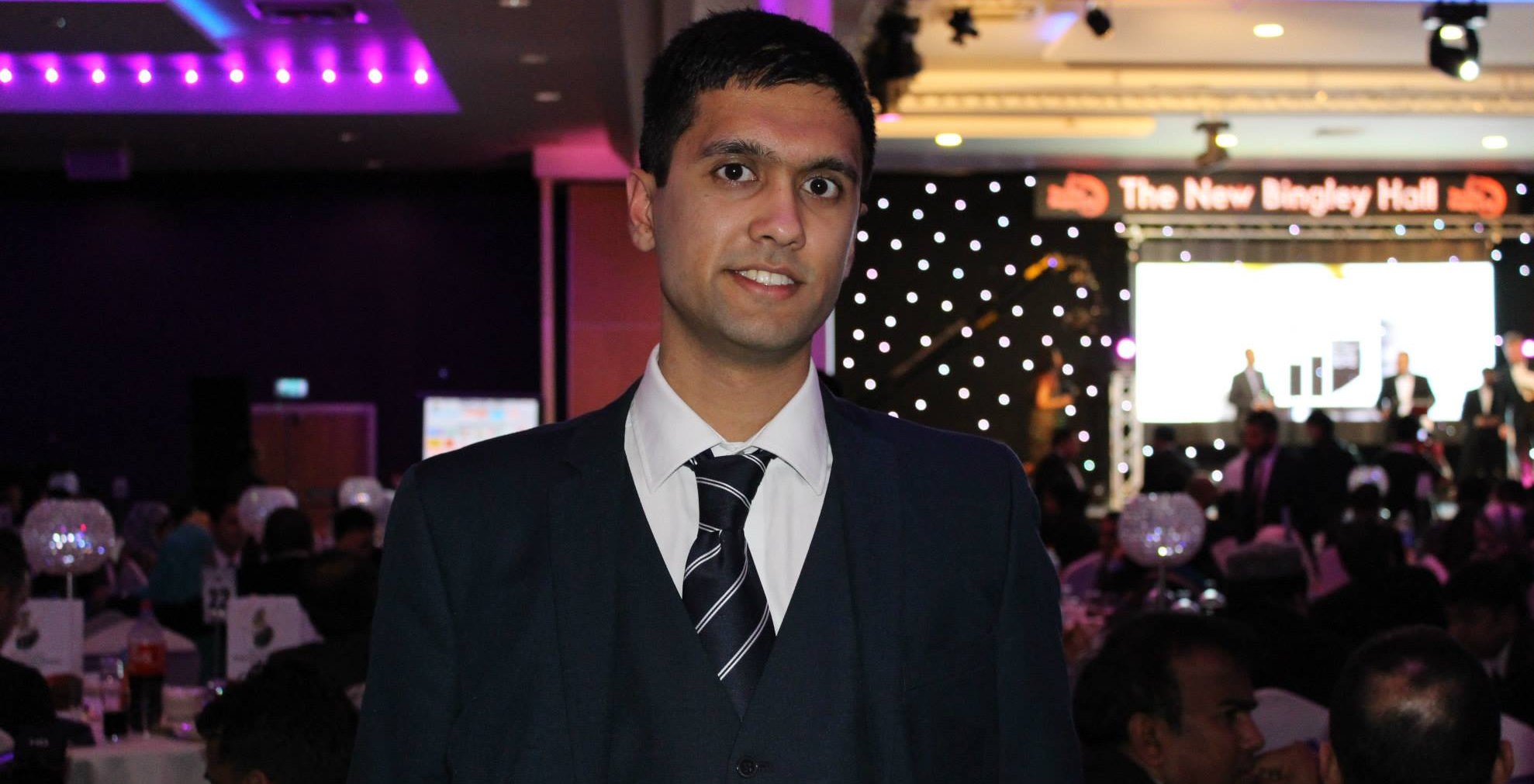Ibrahim at the British Bangladeshi Business Awards 2015
