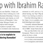 Ramadan Roundup with Ibrahim Rahman