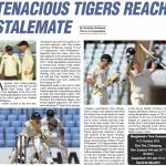 Tenacious Tigers Reach Stalemate