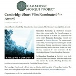 Cambridge Short Film Shortlisted for Award